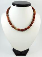 Ожерелье «Карамель» из яшмы