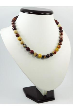 Ожерелье из яшмы и мукаита