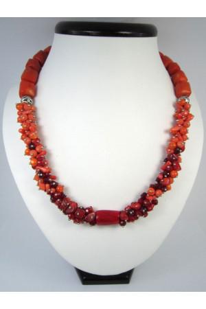 Коралловое ожерелье «Радость»
