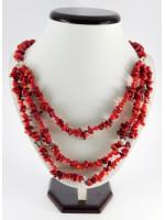 Ожерелье из кораллов «Багрянец»