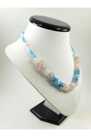 Ожерелье «Букет гортензии»