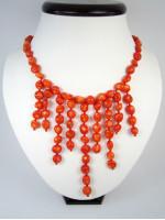 Ожерелье «Коралловые лучи»