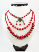Ожерелье «Коралловая прихоть»
