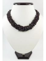 Ожерелье «Воротник» из граната
