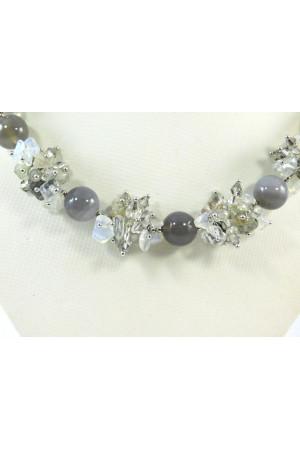 Ожерелье «Ледовый замок»