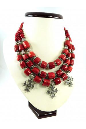 Ожерелье со згардами «Милания»