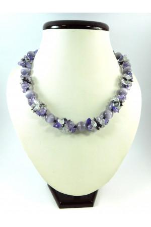 Ожерелье «Фиолетовые мечты»
