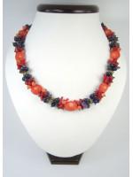 Коралловое ожерелье «Танец цветов»