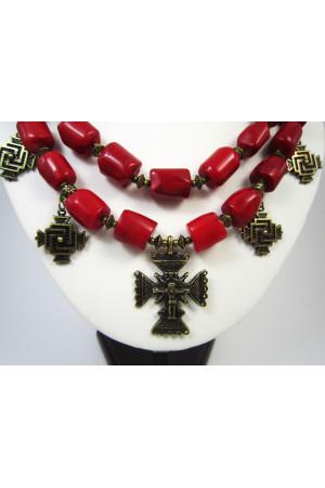 Ожерелье со згардами «Праздничное»