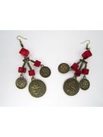 Сережки «Дзвін монет»