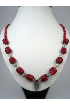 Коралловое ожерелье «Принцесса Алия»