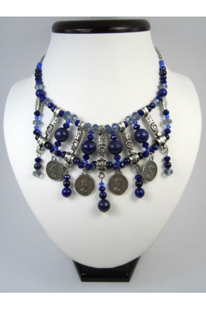 Ожерелье из лазурита «Панские кораллы»