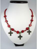 Коралловое ожерелье «Лаодика»