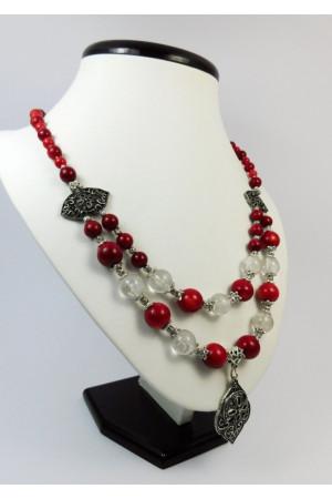 Ожерелье «Хрустальный ажур»