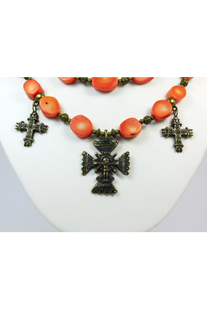 Ожерелье из кораллов «Брунгильда»