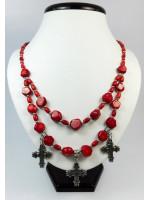 Намисто з червоних коралів «Аста»