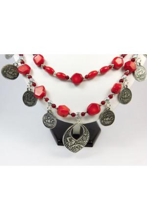 Коралловое ожерелье «Радимира»