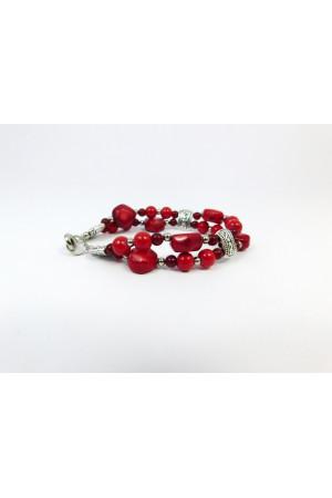 Кораловий браслет «Радимира»