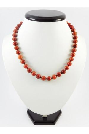 Традиционное ожерелье из кораллов (10 мм)