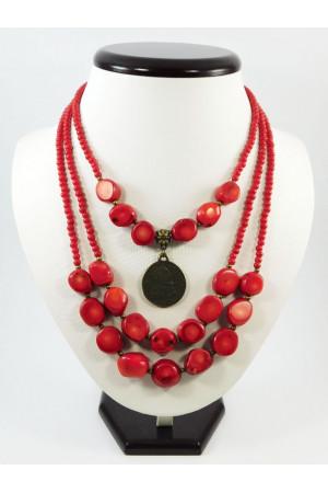 Ожерелье «Коралловое традиционное»