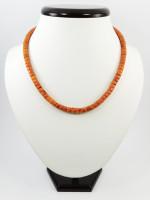 Ожерелье «Коралл рондель»