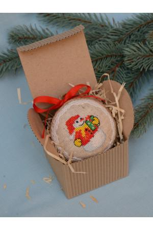 Елочный шар «Снеговик»