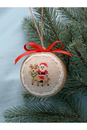 Елочный шар «Санта»