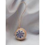 Елочный шарик «Льдинка»