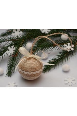 Елочный шарик «Кантри», 5 см