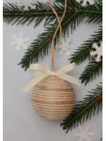 Ялинкова кулька «Рустик» з бантиком