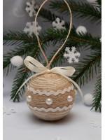Ялинкова кулька «Прованс» з тасьмою
