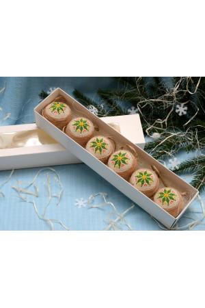 Набор елочных шаров «Рождественская звезда»