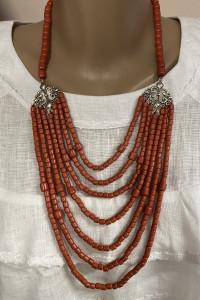 Ожерелье «Панна», серебро