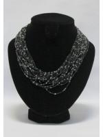 Ожерелье «Черный агат»