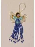 Ангелик з блакитного бісеру