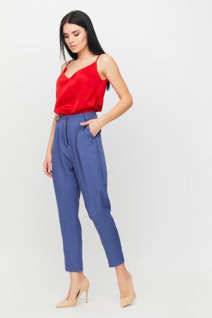 Брюки «Майло» цвета джинс