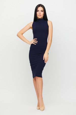 Платье «Одри» темно-синего цвета