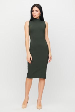 Платье «Одри» цвета хаки
