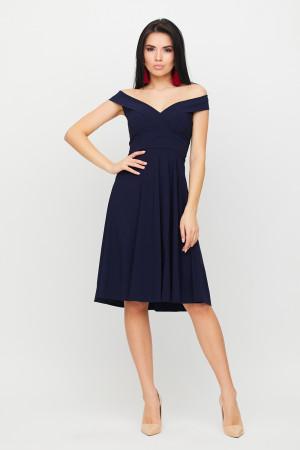 Сукня «Вермут» темно-синього кольору