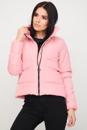 Жіноча куртка «Джей» рожевого кольору