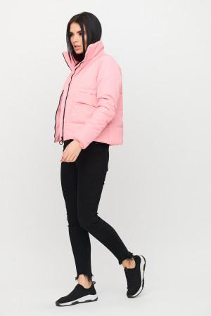 Женская куртка «Джей» розового цвета