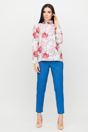 Блуза «Фібі» білого кольору