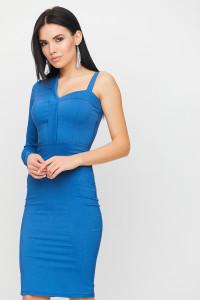 Платье «Перу» цвета джинс