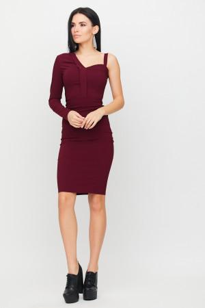 Сукня «Перу» бордового кольору