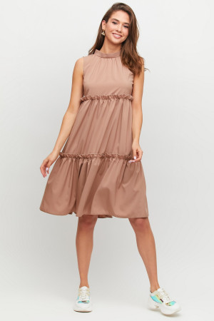 Сукня «Балі» кольору мокко