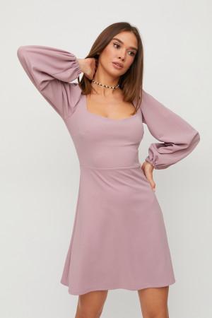 Платье «Пальмира» цвета пудры