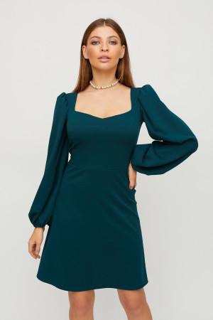 Платье «Пальмира» темно-зеленого цвета