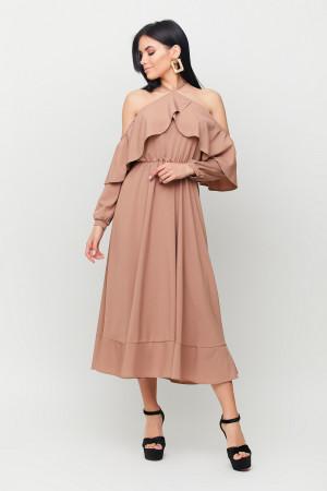 Сукня «Френсіс» кольору капучино