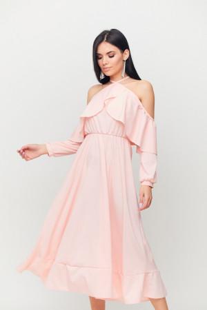 Платье «Френсис» персикового цвета