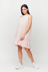Платье «Юта» персикового цвета
